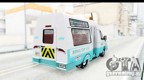 Iveco Turbo Daily для GTA San Andreas вид слева
