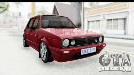 Volkswagen Golf VeloCiti 2008 Updated для GTA San Andreas