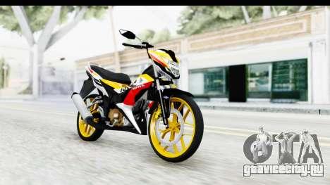 Honda 150R Sonic X IDFR для GTA San Andreas