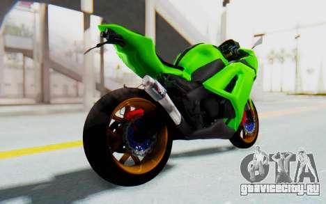 Kawasaki Ninja 250 Abs Streetrace для GTA San Andreas вид слева