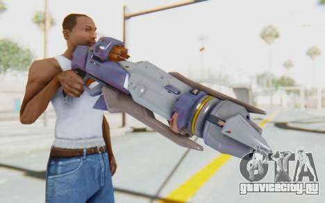 Pharah Mechaqueen Rocket для GTA San Andreas третий скриншот
