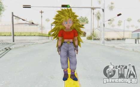 Dragon Ball Xenoverse Pan SSJ3 для GTA San Andreas второй скриншот