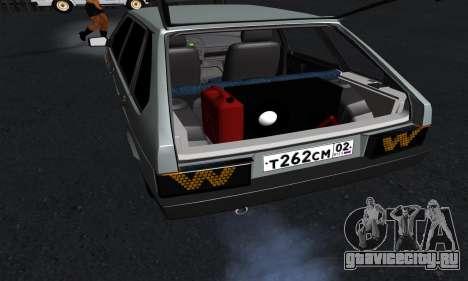 ВАЗ 2109 для GTA San Andreas салон