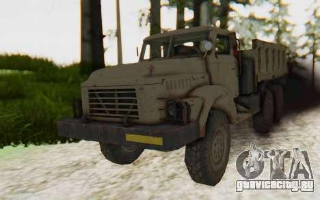 MGSV Phantom Pain Zi-GRA 6T Truck для GTA San Andreas