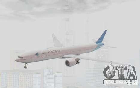 Boeing 777-300ER Garuda Indonesia для GTA San Andreas