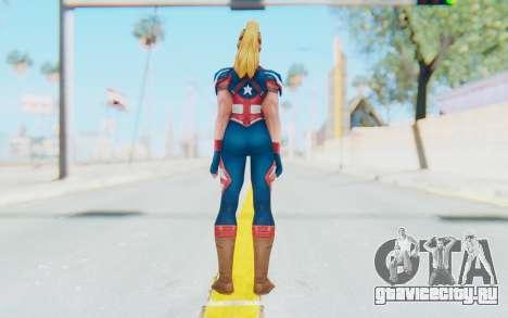 Marvel Future Fight - Captain America (2099) для GTA San Andreas третий скриншот