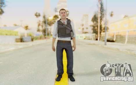 CoD MW2 Secret Service для GTA San Andreas второй скриншот