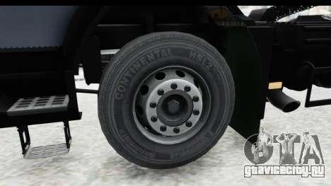 Volvo FMX Euro 5 v2.0.1 для GTA San Andreas вид сзади
