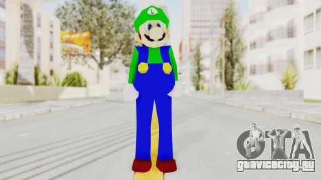 Luigi для GTA San Andreas второй скриншот