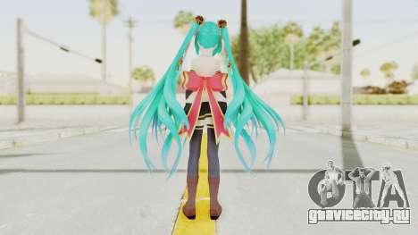 Sengoku Otome Miku для GTA San Andreas третий скриншот