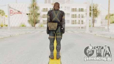 MGSV Phantom Pain Big Boss SV Sneaking Suit v2 для GTA San Andreas третий скриншот