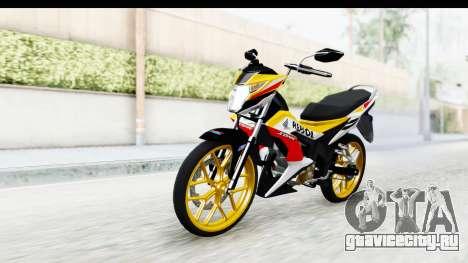 Honda 150R Sonic X IDFR для GTA San Andreas вид справа