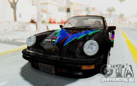 Porsche 911 Turbo 3.2 Coupe (930) 1985 для GTA San Andreas вид сверху