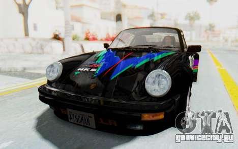 Porsche 911 Turbo 3.2 Coupe (930) 1985 для GTA San Andreas вид сверху