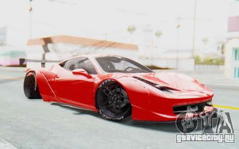 Ferrari 458 Liberty Walk для GTA San Andreas