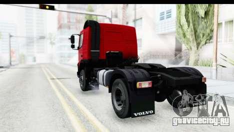 Volvo FMX Euro 5 v2.0 для GTA San Andreas вид сзади слева