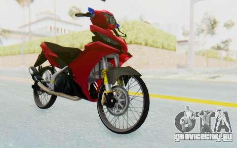 Yamaha Jupiter MX 135 Lock Style для GTA San Andreas