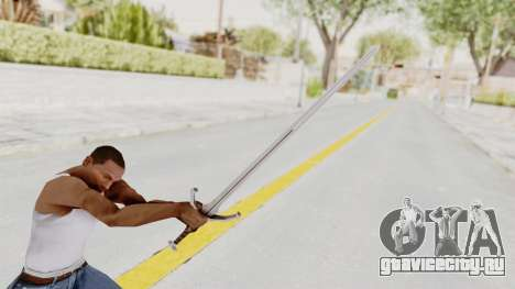 The Witcher 3: Wild Hunt - Sword v1 для GTA San Andreas третий скриншот