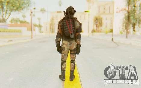 Federation Elite SMG Woodland-Flora для GTA San Andreas третий скриншот