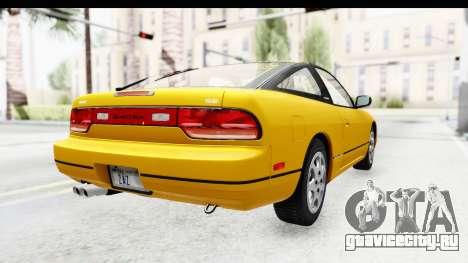 Nissan 240SX 1994 v1 для GTA San Andreas вид сзади слева