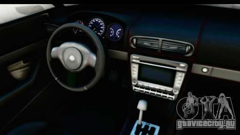 GTA 5 Lampadati Furore GT IVF для GTA San Andreas вид изнутри