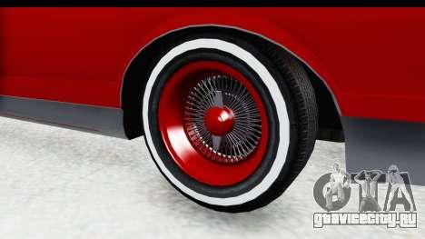 Chevrolet Monte Carlo Breaking Bad для GTA San Andreas вид сзади