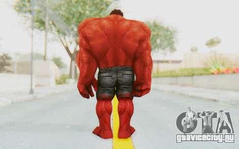 Marvel Future Fight - Red Hulk для GTA San Andreas третий скриншот