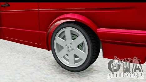 Volkswagen Golf Citi 1.8 1998 для GTA San Andreas вид сзади
