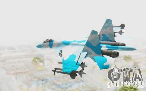 SU-37 American Ornament для GTA San Andreas вид слева