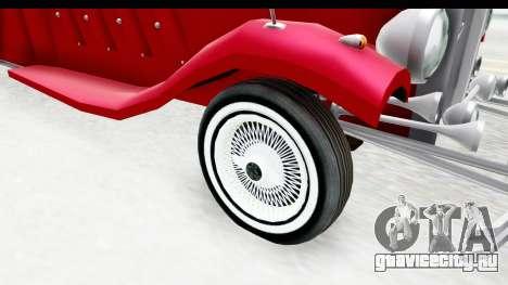 Unique V16 Phaeton для GTA San Andreas вид сзади
