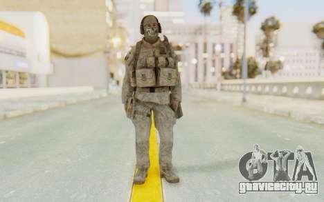 CoD MW2 Ghost Model v1 для GTA San Andreas второй скриншот