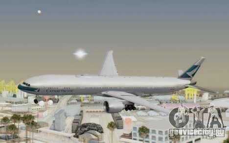 Boeing 777-300ER Cathay Pacific Airways v1 для GTA San Andreas