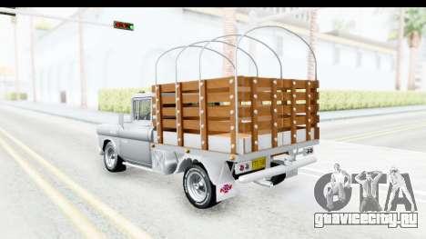 Chevrolet 3100 Diesel v1 для GTA San Andreas вид сзади слева