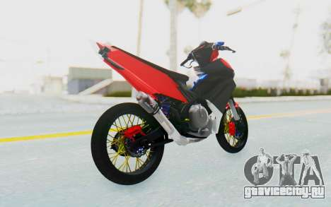 Yamaha Jupiter MX 135 Semi Roadrace для GTA San Andreas вид слева