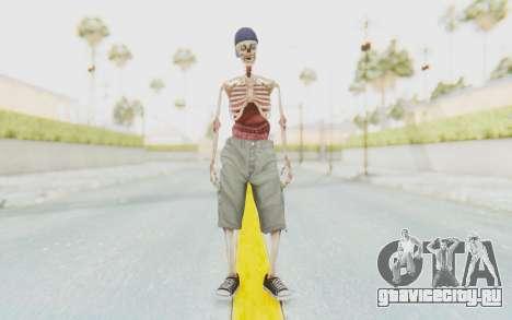 Skeleton Sk8ter для GTA San Andreas второй скриншот