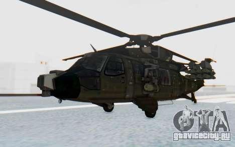 MGSV Phantom Pain UTH-66 Blackfoot для GTA San Andreas вид сзади слева
