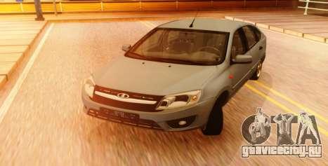 Lada Granta Liftback Beta v1 для GTA San Andreas