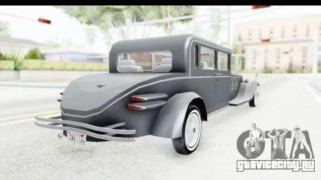 Unique V16 Sedan для GTA San Andreas вид слева