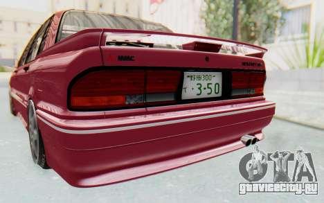 Mitsubishi Galant VR4 1992 для GTA San Andreas вид сбоку