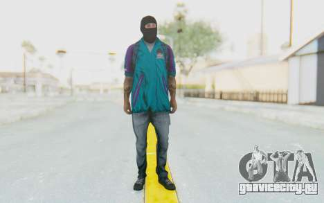 Robbery Skin для GTA San Andreas второй скриншот