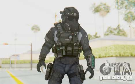 CoD BO2 LAPD v1 для GTA San Andreas
