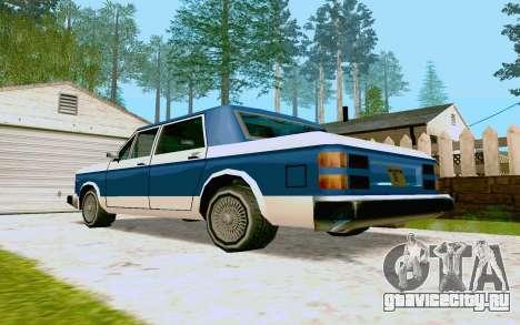 Bobcat Sedan для GTA San Andreas вид справа