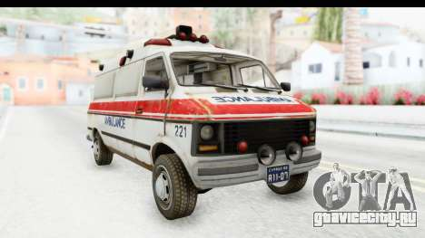 MGSV Phantom Pain Ambulance для GTA San Andreas