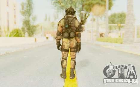 Federation Elite Assault Woodland-Flora для GTA San Andreas третий скриншот