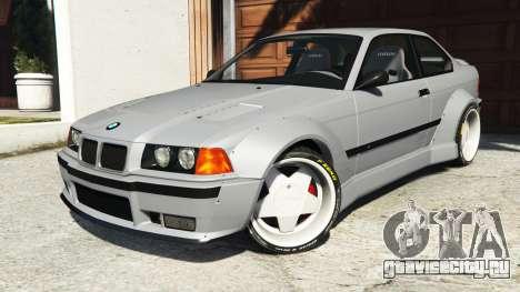 BMW M3 (E36) Street Custom для GTA 5 руль и приборная панель