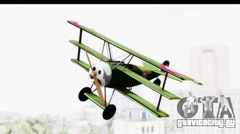 Fokker DR1 Old Paraguay Air Force для GTA San Andreas