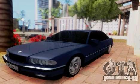 BMW 750 для GTA San Andreas