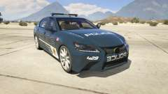 Lexus GS 350 Hot Pursuit Police для GTA 5