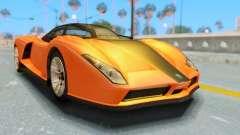 GTA 5 Grotti Cheetah IVF для GTA San Andreas