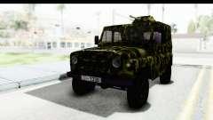 УАЗ-469 Военная полиция Сербии